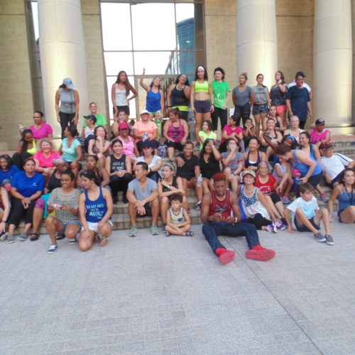 Zumba Group Picture
